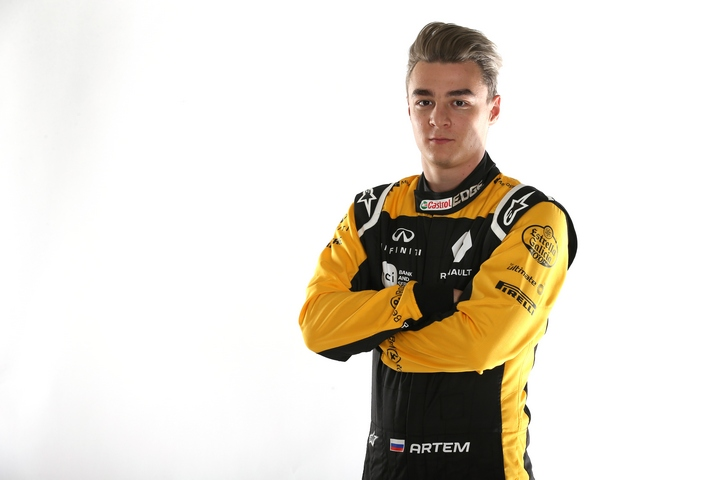 Артём Маркелов - тест-пилот и девелопмент-драйвер Renault Sport Formula One Team