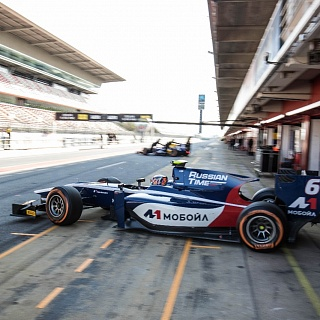 Artem Markelov, Russian Time, F2 Barcelona Test 2017-6326.jpg