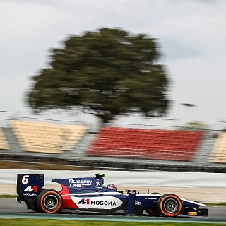Artem Markelov, Russian Time, F2 Barcelona Test 2017-4773.jpg