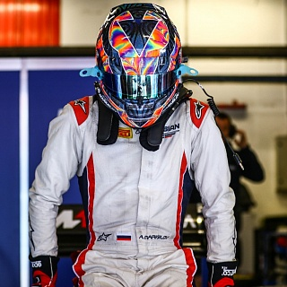 Artem Markelov, Russian Time, F2 Barcelona Test 2017-6523.jpg