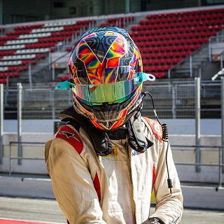 Artem Markelov, Russian Time, F2 Barcelona Test 2017-7485.jpg