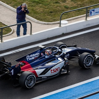 Artem Markelov, Russian Time, Test F2 Paul Ricard 2018-4927.jpg