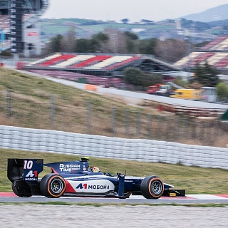 Artem Markelov, Russian Time, GP2 Test Barcelona 2016-4089.jpg