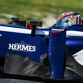 Artem Markelov, Russian Time, F2 Barcelona Test 2017-7577.jpg